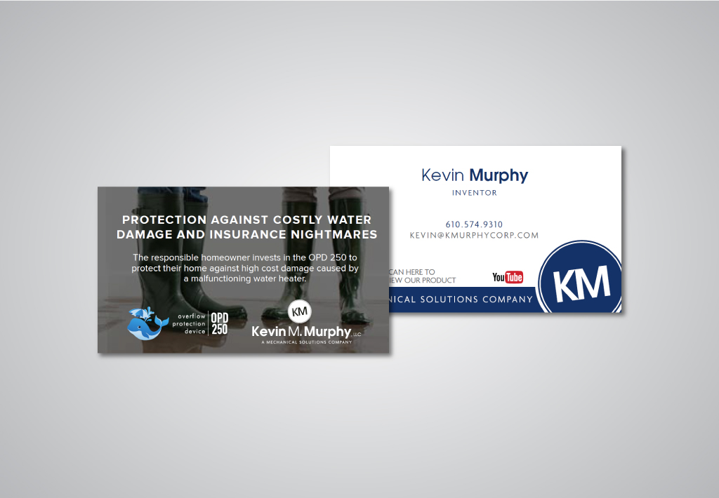 OPD business card design