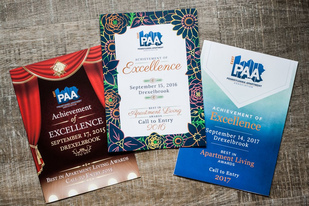 Pennsylvania Apartment Association printed collateral