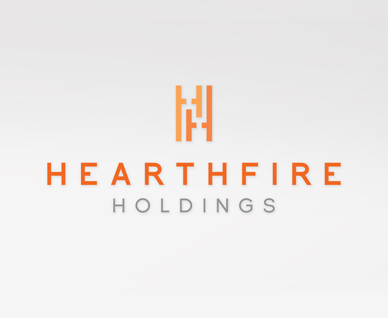 Hearthfire Holdings logo design