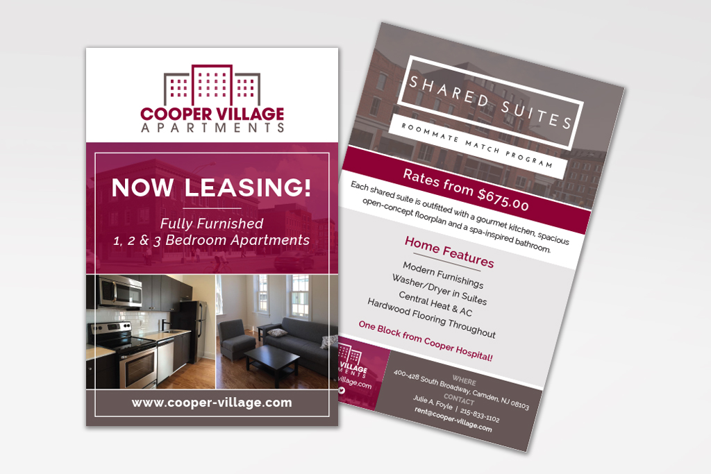 multi-family now leasing flyer