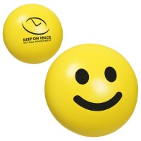 customized smiley face stress reliever toy